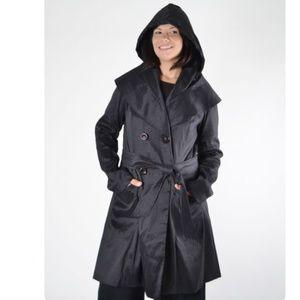 Mycra Pac Belted Stretch Keaton Raincoat Jacket